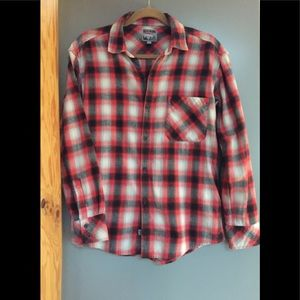 Aritzia TNA Boyfriend flannel shirt